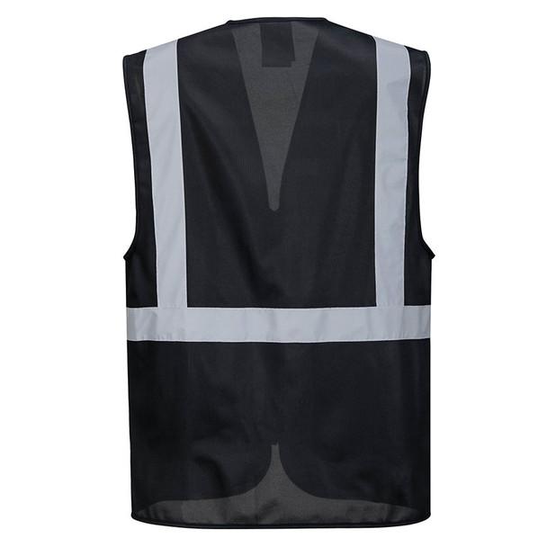 PortWest Enhanced Visibility Iona Executive Vest UF476 Back