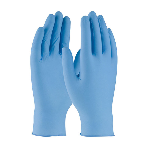 PIP Case of 1000 Ambi-dex 5 Mil Turbo Disposable Nitrile Powder Free Blue Gloves 63-332PF Gloves