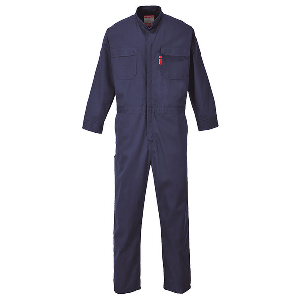 PortWest FR Bizflame Navy Coverall UFR88NA