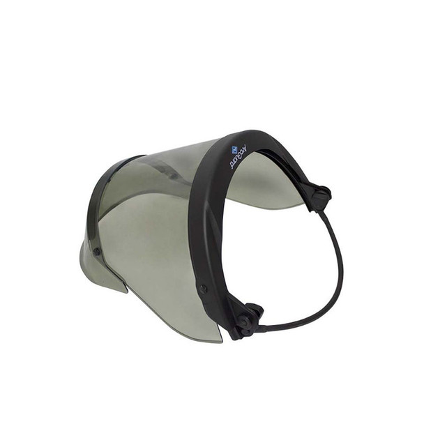 NSA FR Pureview Face Shield with Full Brim Adapter H20HTFB