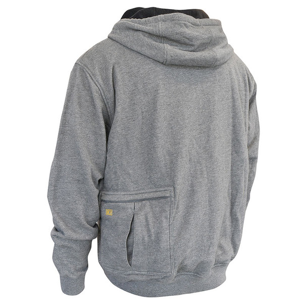 DeWALT Heated French Terry Hoodie with Adapter DCHJ080B Back