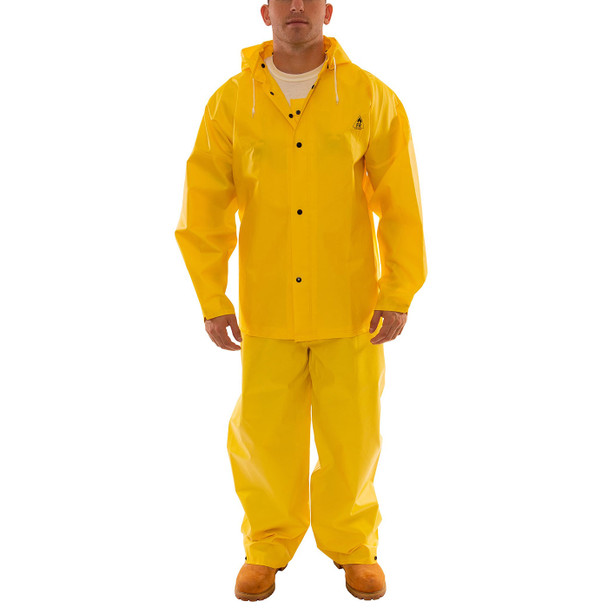 Tingley ASTM D6413 Industrial Yellow DuraScrim 3-Piece Rain Suit S56307 Suit