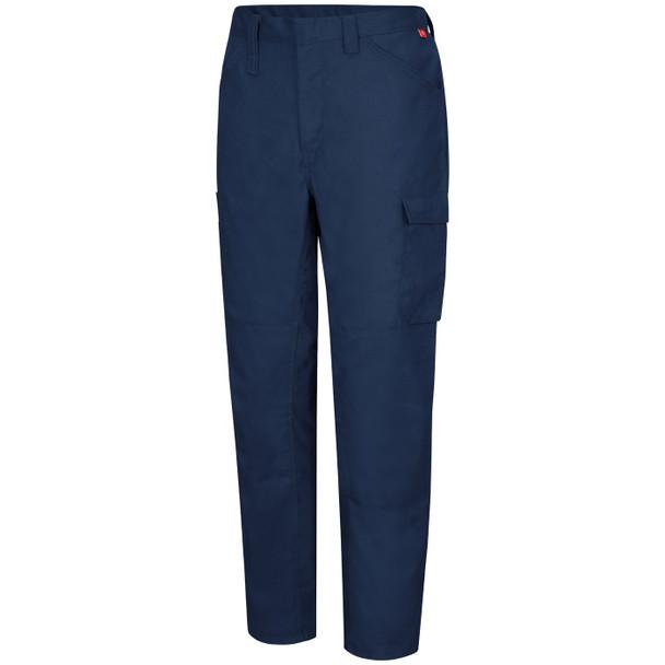 Bulwark FR iQ Lightweight Pants QP14 Navy Front