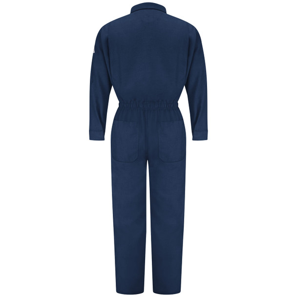 Bulwark Womens FR Premium Nomex IIIA Coveralls CNB3 Navy Back