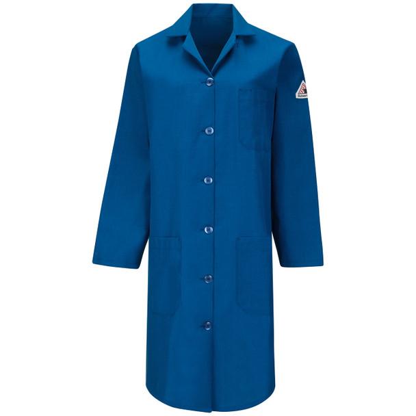 Bulwark Womens FR Nomex IIIA Lab Coat KNL3RB Front