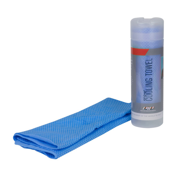 PIP Box of 10 EZ-Cool Evaporative Cooling Towels 396-602-B-BULK Available in Blue