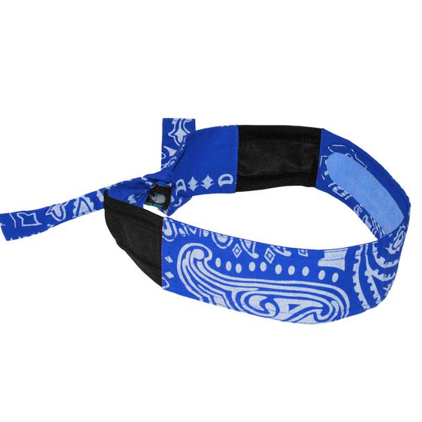 Radians Arctic Radwear Blue Paisley Cooling Headband RCS108