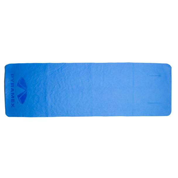 Pyramex Blue Cooling Towel Wrap C260 Unrolled