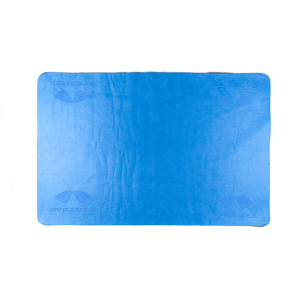 Pyramex Blue Cooling Towel C160 Unrolled