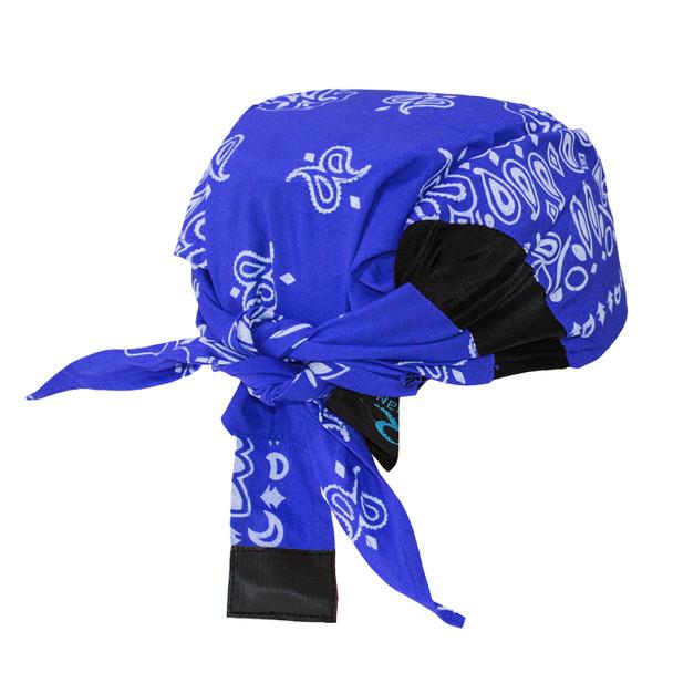 Radians Advanced ARCTIC Radwear Blue Paisley Cooling Headshade RCS308