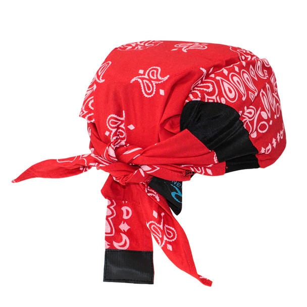 Radians Advanced ARCTIC Radwear Red Paisley Cooling Headshade RCS307