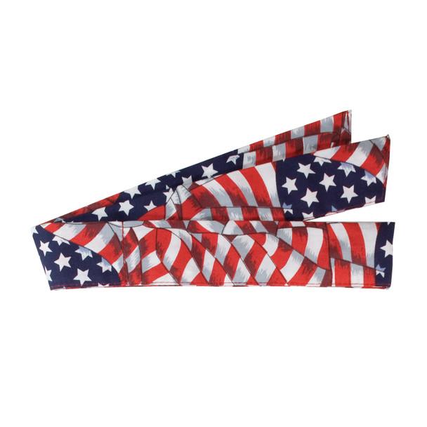 PIP Evaporative Patriotic Flag Cooling Bandana 393-100-PAT
