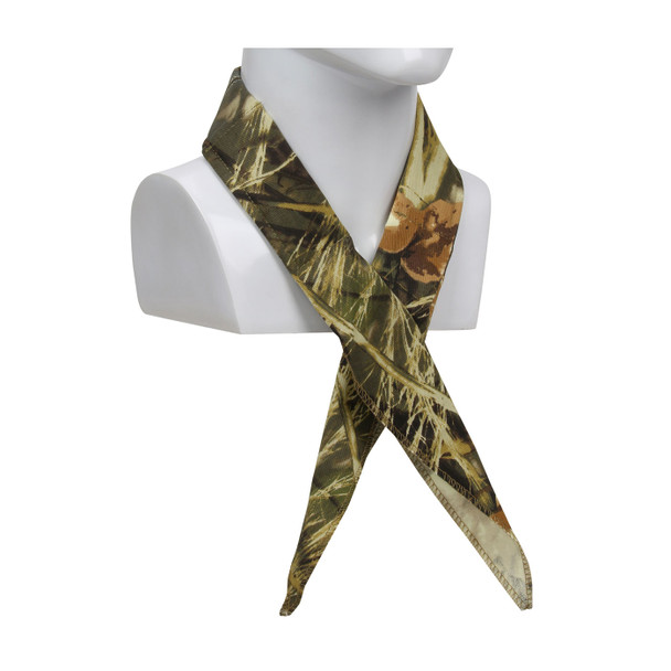 PIP Box of 12 Evaporative Mesh Realtree Max5 Camo Cooling Bandanas 393-EZ201-RTC-DZN Tied Around the Neck