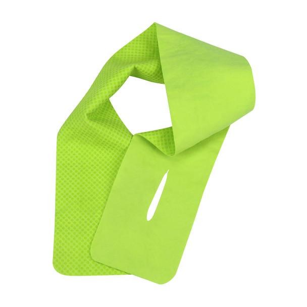 PIP Box of 12 Evaporative Hi Vis Lime Cooling Neck Wraps 393-650-L-DZN Lime Version