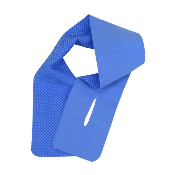 PIP Case of 48 Evaporative Blue Cooling Neck Wraps 393-650-B-CASE Blue Version