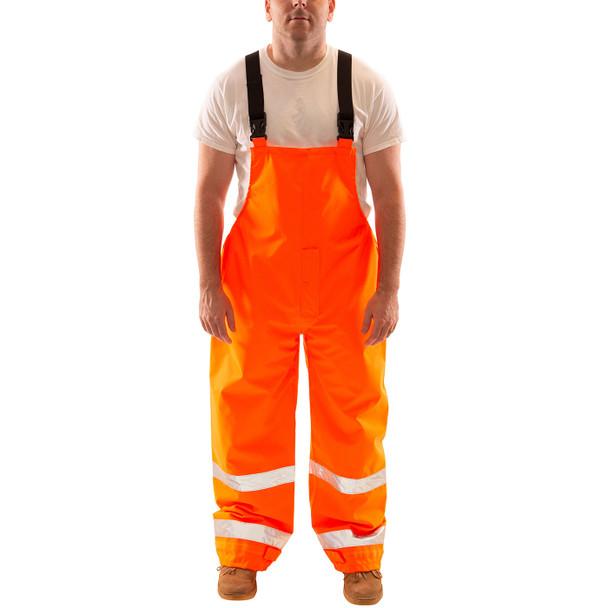 Tingley Class E Hi Vis Orange Icon Overalls O24129 Front