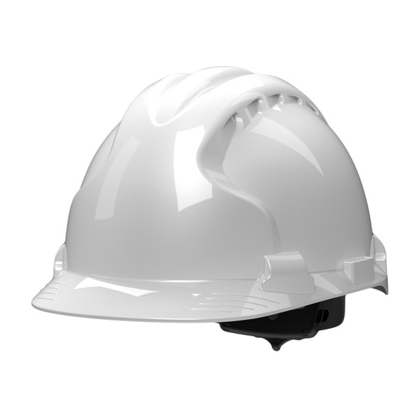 PIP Class E MK8 Evolution Type II Hard Hat with HDPE Shell 280-AHS150 Angled View