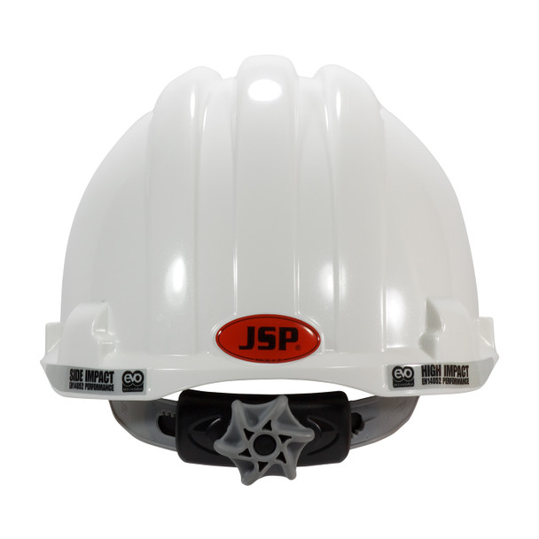 PIP Class C MK8 Evolution Vented Type II Hard Hat with HDPE Shell and EPS Impact Liner 280-AHS150V Back