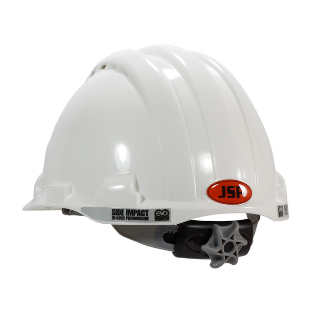 PIP Class C MK8 Evolution Vented Type II Hard Hat with HDPE Shell and EPS Impact Liner 280-AHS150V Back Left