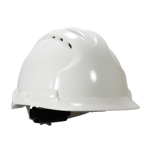 PIP Class C MK8 Evolution Vented Type II Hard Hat with HDPE Shell and EPS Impact Liner 280-AHS150V Right Diagonal