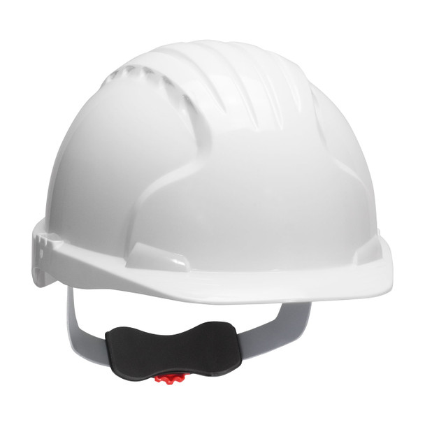 PIP Class E Evolution Deluxe 6151 Cap Style Hard Hat with 6-Point Ratchet Adjustment 280-EV6151 White
