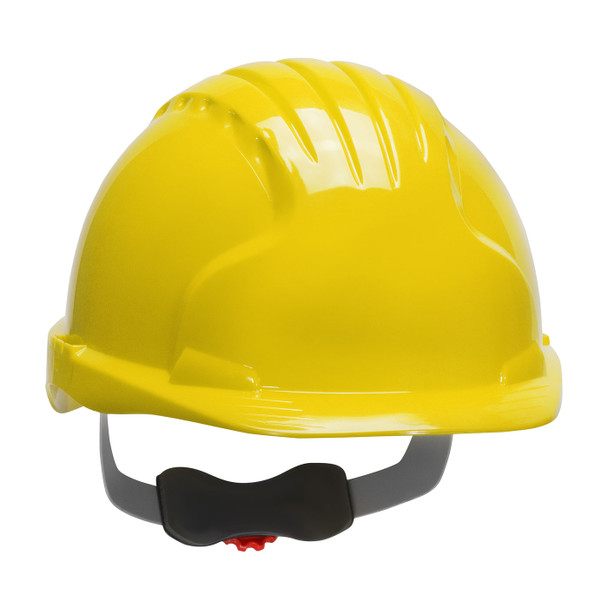 PIP Class E Evolution Deluxe 6151 Cap Style Hard Hat with 6-Point Ratchet Adjustment 280-EV6151 Yellow