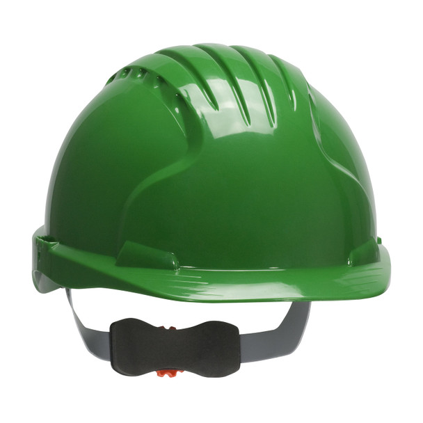 PIP Class E Evolution Deluxe 6151 Cap Style Hard Hat with 6-Point Ratchet Adjustment 280-EV6151 Green