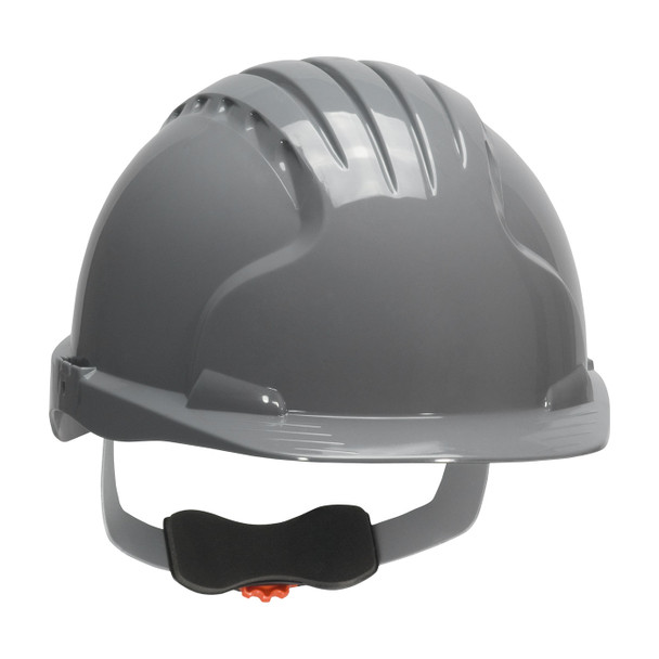 PIP Class E Evolution Deluxe 6151 Cap Style Hard Hat with 6-Point Ratchet Adjustment 280-EV6151 Gray