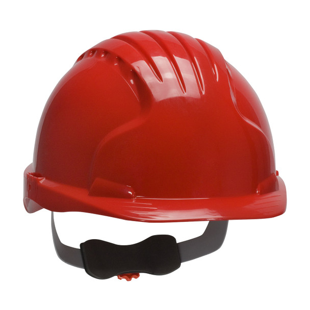 PIP Class E Evolution Deluxe 6151 Cap Style Hard Hat with 6-Point Ratchet Adjustment 280-EV6151 Red