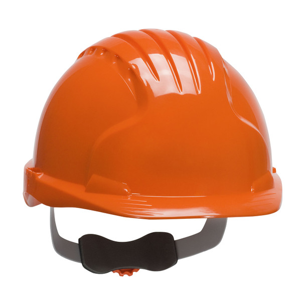 PIP Class E Evolution Deluxe 6151 Cap Style Hard Hat with 6-Point Ratchet Adjustment 280-EV6151 Orange