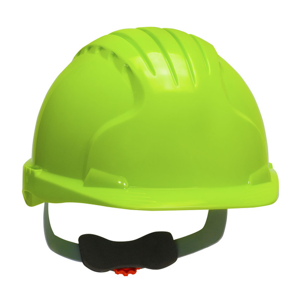 PIP Class E Evolution Deluxe 6151 Cap Style Hard Hat with 6-Point Ratchet Adjustment 280-EV6151 Neon Yellow