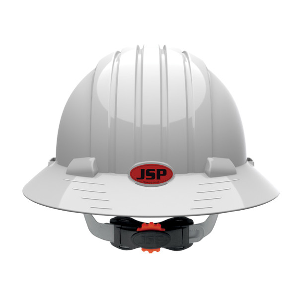 PIP Class E Full Brim Hard Hat with 6-Point Ratchet Adjustment 280-EV6161 Backside