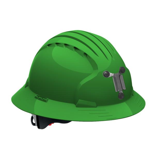 PIP Full Brim Mining Hard Hat with 6-Point Ratchet Adjustment 280-EV6161M Green