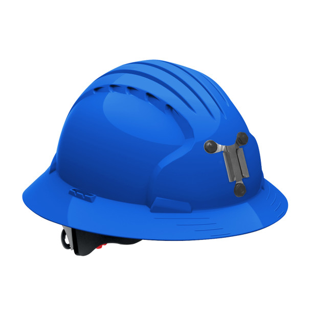 PIP Full Brim Mining Hard Hat with 6-Point Ratchet Adjustment 280-EV6161M Blue