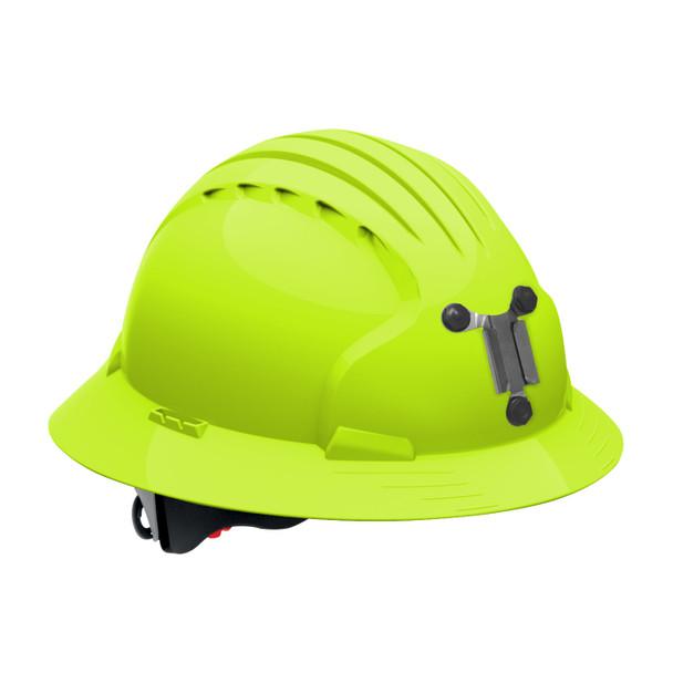 PIP Full Brim Mining Hard Hat with 6-Point Ratchet Adjustment 280-EV6161M Neon Yellow