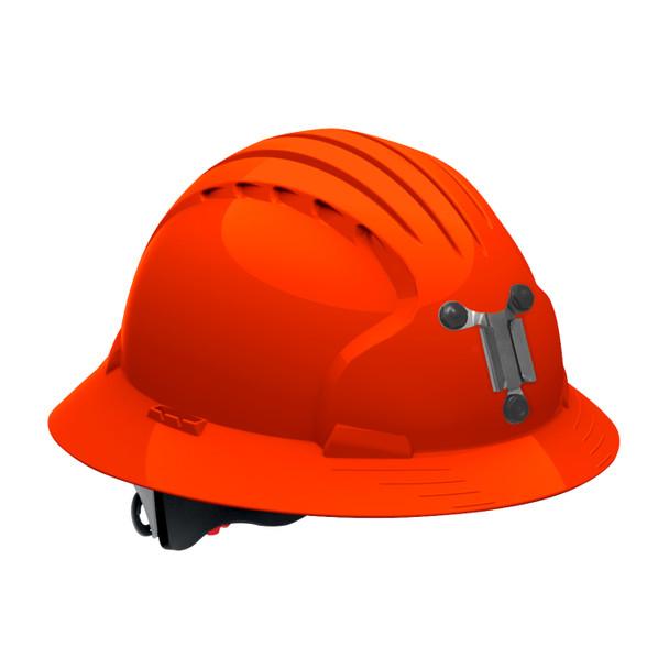 PIP Full Brim Mining Hard Hat with 6-Point Ratchet Adjustment 280-EV6161M Neon Orange