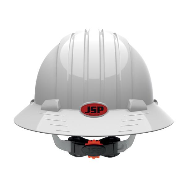 PIP Class C Vented Full Brim Hard Hat with 6-Point Ratchet Adjusment 280-EV6161V Backside