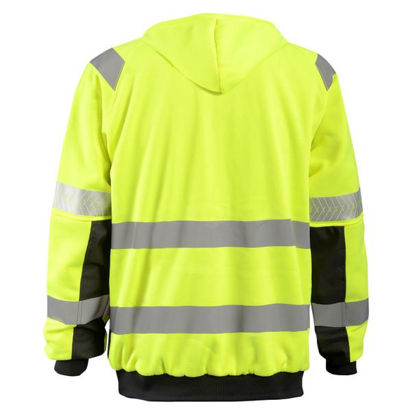 Occunomix Class 3 Hi Vis Yellow DOR Crossover Jacket SP-CROSSJKT Back