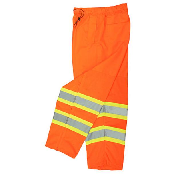 Radians Class E Hi Vis Two-Tone Surveyor Safety Pants SP61 Orange