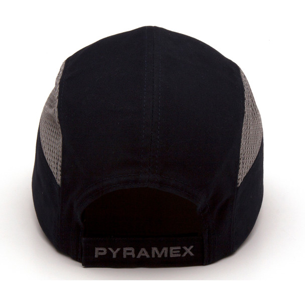 Box of 12 Pyramex Navy Blue Baseball Bump Caps HP50065 Back