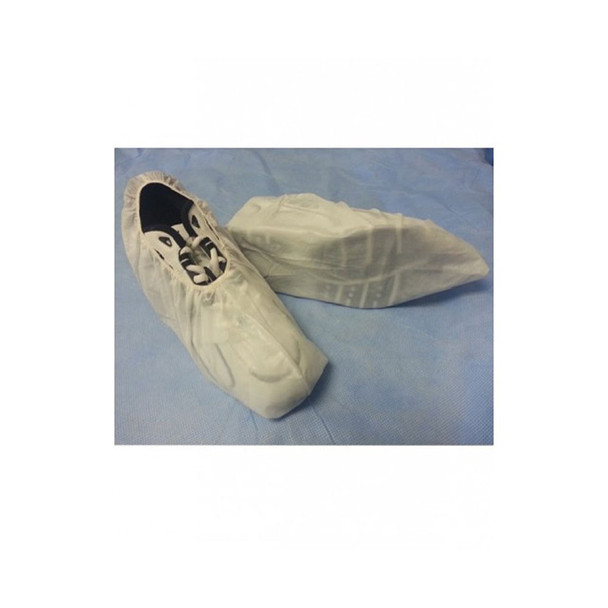 Case of 150 Pair Sunrise Ultimate Skid-Resistant Seamless Bottom White Shoe Covers T155