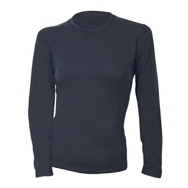 DragonWear Womens FR Moisture Wicking Navy Made in USA Long Sleeve Shirt DFHW01