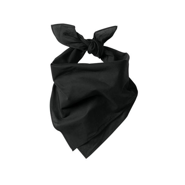 Port Authority Cotton Bandana C960 Black Tied