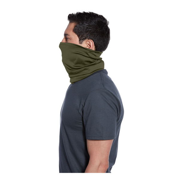 Port Authority Stretch Performance Gaiter G100 Olive Drab Green Side