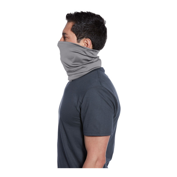 Port Authority Stretch Performance Gaiter G100 Silver Side