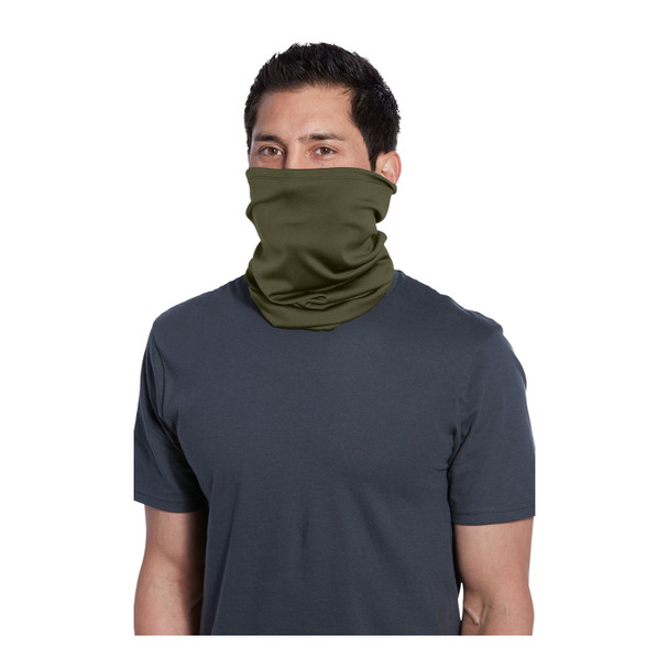 Port Authority Stretch Performance Gaiter G100 Olive Drab Green Front