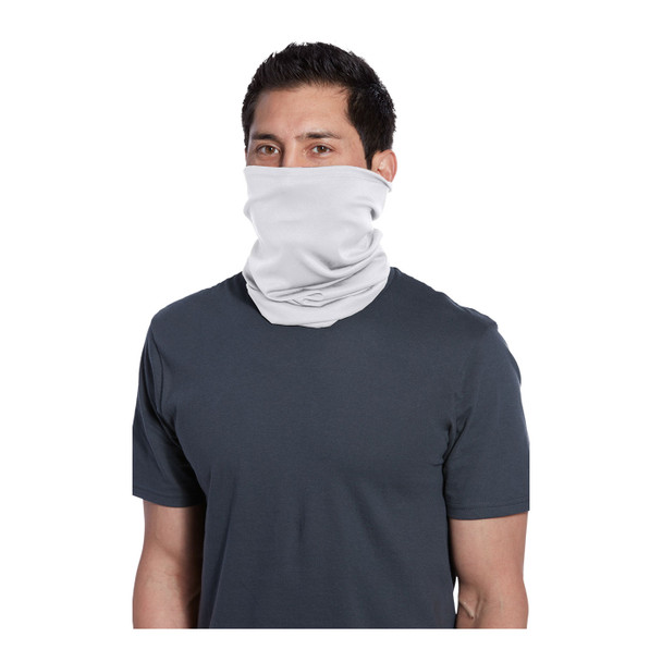 Port Authority Stretch Performance Gaiter G100 White Front
