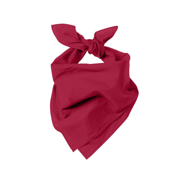 Case of 480 Port Authority Cotton Bandanas C960-CASE Red Tied