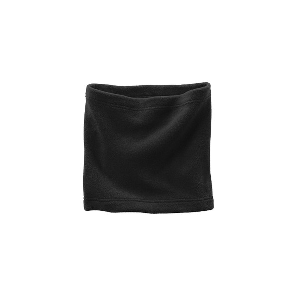 Case of 144 Port Authority Fleece Neck Gaiters FS07-CASE Black Flat