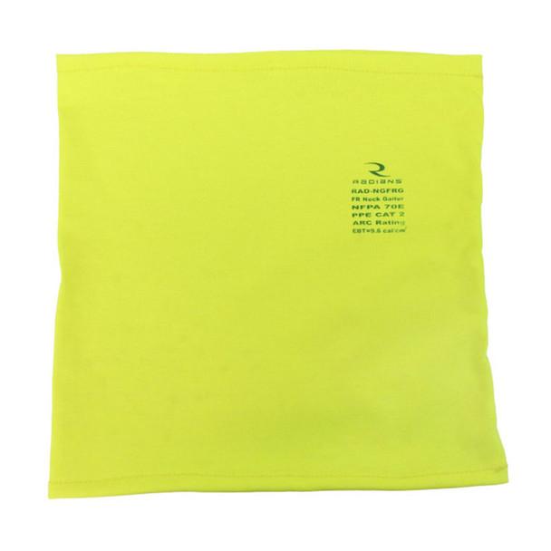 Case of 200 Radians FR Made in USA Face Covering Neck Gaiter RAD-NGFRG-CASE Flat